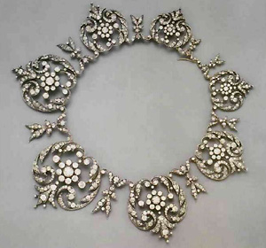 брилиантовое ожерелье: